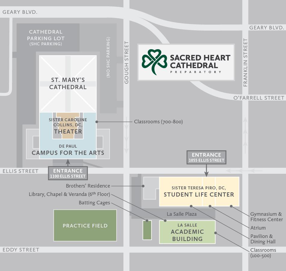 SHC Campus Map